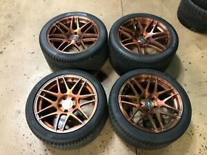 Forgestar Corvette Wheels Tires 18x10 19x12 Z06 Grand Sport C5 C6 Wide Body