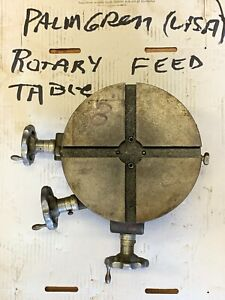 Palmgren Rotary Table 8 2 Axis Item 1099