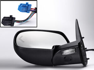 For 2003 2007 Gm Pickup Truck Mirror Power Folding Signal Puddle Driver Side