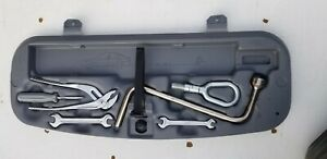 Bmw E46 Trunk Tool Kit Box Set Holder 330 325 323 328 Convertible Oem Emergency