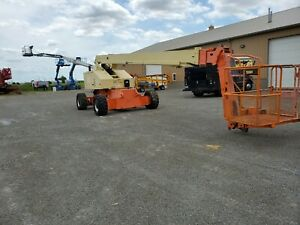 L k Jlg 80hx Plus 6 Manlift Boom Lift Genie 860sj