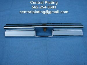 1957 1958 Cadillac Rear Center Bumper