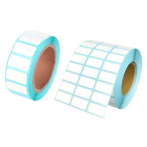 1 Roll Waterproof Adhesive Thermal Paper Label Price Blank Print Stickers s1