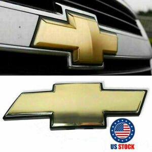 New Chevy Front Grill Bowtie Oem Emblem 2007 2014 Suburban Tahoe Avalanche