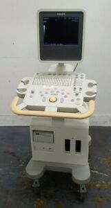 Philips Model Hd3 Ultrasound System W Flat panel Monitor Printer No Probes