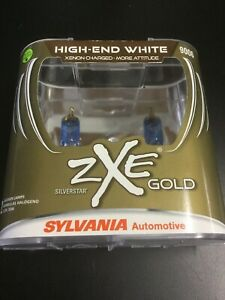 Sylvania Silverstar Zxe 9006 Gold High End White Set Of 2 Bulbs Brand New 7704