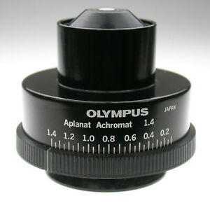 Olympus Microscope Achromatic aplanatic Condenser In Very Nice Condition