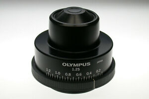 Olympus Microscope Bh2 cd Abbe Condenser In Excellent Condition