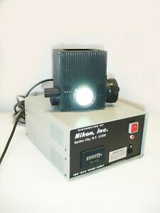 Nikon 100w Lamphouse And Hbo 100w Power Supply 78591 Fluorescence