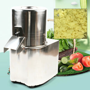 Electric Vegetable Cutter Chopper Food Processor Chopper Grater Slicer Stainless