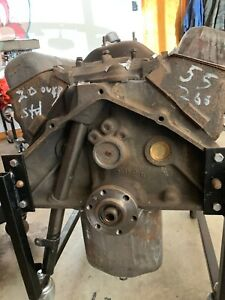 1955 Chevy Engine 265 Very Rare Remanufactured