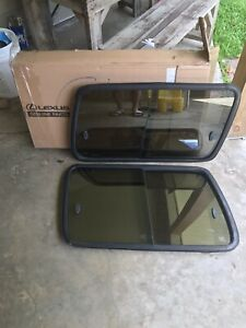 Toyota Land Cruiser Fj80 Fzj80 Sliding Rear Windows