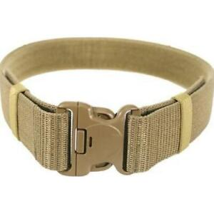 Blackhawk Enhanced Military Web Belt Coyote Tan Waists Up To 43 inches