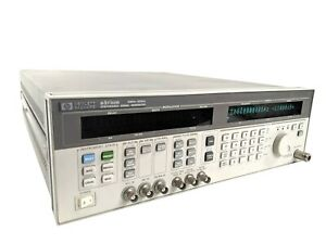 Agilent Hp 83732b Synthesized Signal Generator 10mhz 20ghz options 1e1 1e8