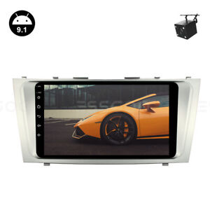 2din Android 9 1 Car Stereo Radio Head Unit Gps Camera For Toyota Camry 06 09