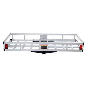 High Quality Basket Hitch Mount Cargo Carrier Truck Van Luggage 60 X 22 Aluminum