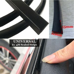 4m Car Door Window Trim Edge Moulding Rubber Noise Weatherstrip Seal Strip Us