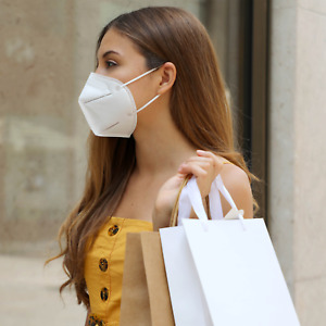 Kn95 Mask Face Mask Disposable Masks Multi layer Protective Respirator 10pcs