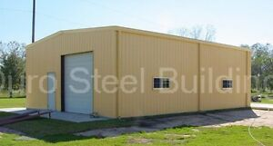 Durobeam Steel 25x30x14 Metal Garage Shop Made To Order Dream Buildings Direct