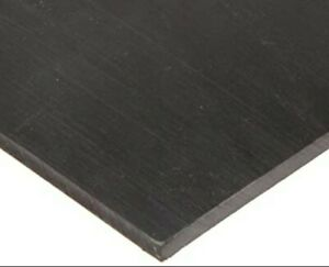 1 Black Uhmw Virgin Sheet 6 5 x17 Cnc Millstock Plastic 8408