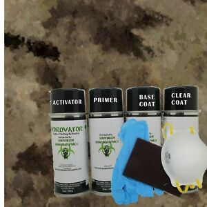 Hydrographic Water Transfer Hydro Dip Kit Activator 1m Brown Camouflage Film
