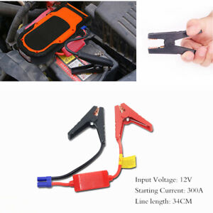 Car Jump Starter Booster Cable Battery Connetor Alligator Clamp Emergency Lead