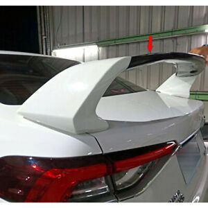 Unpainted Abs For Toyota Corolla Altis 12th Rr Look Rear Trunk Spoiler 2019