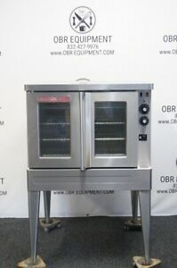 Blodgett Single Stack Full Size Electric Convection Oven Model Sho 100 esgl