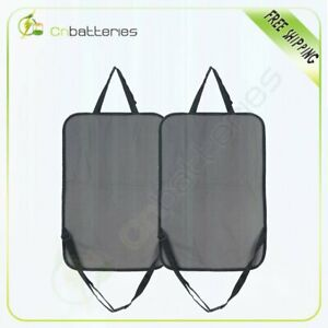 Seatback Protector Parts Touch Screen Tablet Black Storage Pocket Organizer