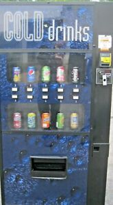 Royal Vendors Soda Bottle can Drink Vending Machine With Credit Card Reader