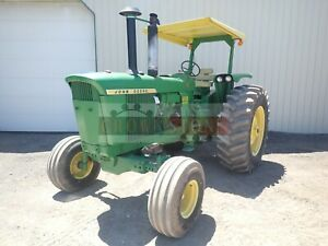 1969 John Deere 4520 Tractor 2wd Powershift Transmission 3 Pt Low Production
