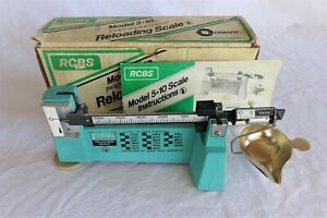 RCBS 5-10 Reloading Powder Scale w Box & Instructions  $89.85