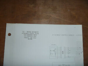 Bobcat 773 Skid Steer Electrical Wiring Diagram Schematic Manual 509635001 38679