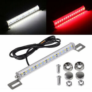 Universal License Plate Mount High Power Led Backup Tail Light For Car Suv Truck