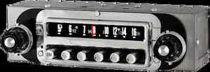 1955 Ford Thunderbird Am Fm Stereo Bluetooth Radio 6 Volt Made In The Usa