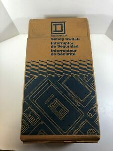 Square D D223nrb 100a General Duty Safety Switch Rainproof Type 3r Enclosure