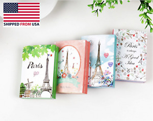 Mini Sticky Notes Paris Eiffel Tower 6 Folding Memo Pad N Times Stickers Cute