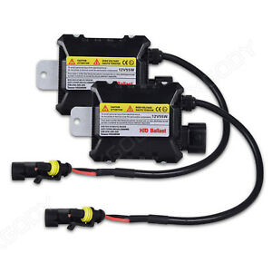 2x 55w Hid Kit Replacement Xenon Ballast H1 H4 H7 H11 9006 9005 Slim Dc 12v
