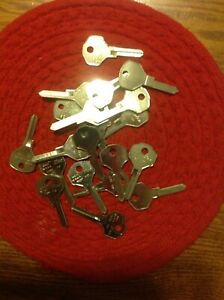 Lot Of 20key Blanks For Vintage Ford Lincoln Mercury 1938 To 1950 1125f H10 K635