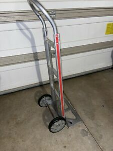 Aluminum Hand Truck Moving Push Dolly Cart Magliner