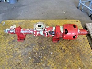 Continental 1 1 2 Stainless Progressive Cavity Pump 69328j Used