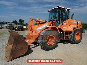 2014 Doosan Dl250 Articulating Wheel Loader 2020 Hrs Cab Heat ac 172hp Turbo