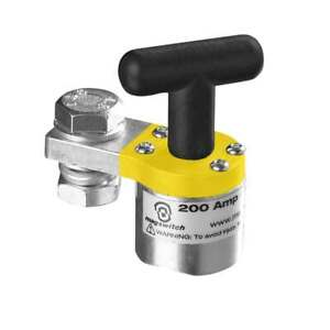 Tweco 9255 1060 Smgc200 Switchable Magnetic Ground Clamp 200 Amp