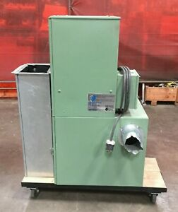 Donaldson Torit Industrial Dust Collector On Cart W Casters 8 Inlet 230v