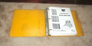 Bobcat 630 640 730 740 750 Attachments Parts Manual Book Loader Skid Steer