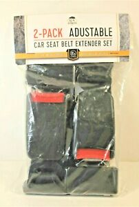 2 Pack Adjustable Car Seat Belt Extenders 7 8 Tong 11 To 14 Adjustment