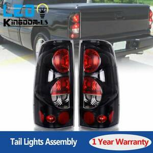 Tail Light For 2003 2006 Chevy Silverado 1500 2500 3500 Brake Rear Lamp Pair L R