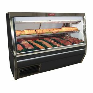 Howard mccray Sc cms34n 6 be led 72 Red Meat Deli Display Case