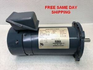 Rima Variable Speed Dc Motor 46405352143 15a 1 2 Hp Item 748541 w3