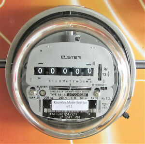 Ab1 Single Stator elster Electric Watthour Meter
